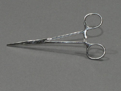 Kelly hemostatic forceps, straight B/L-5 1/2""