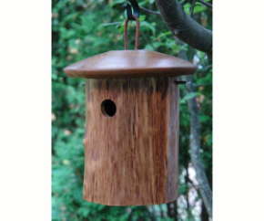 Natural Chickadee House