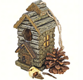 Backwoods Cabin Birdhouse