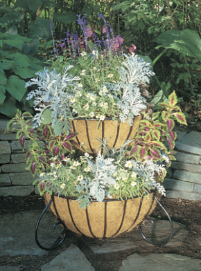 Two Tiered Planter - EURO CLASSIC