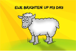 Ewe Brighten Up My Day