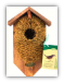 Nest Pocket Coconut Fiber with roof