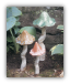 Tipsy Toadstools (cs/6) - Brown, Red & Green