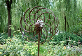 Backyard Windmill Solar Kinetic Wind Spinner