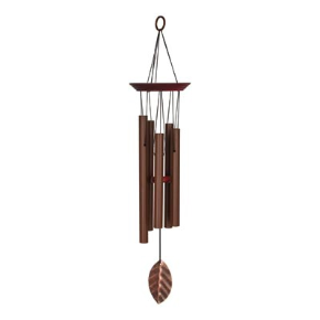Copper Leaf Windchime