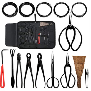Aonepro Bonsai Tool Kit 10PCS Set