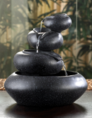 Cascading Bowl Shaped Step Fountain