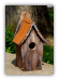 Rustic Roof Bluebird House